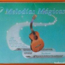 Casetes antiguos: MELODIAS MAGICAS (GUITARRA) PDI 1991 ESTUCHE 2 CASSETTES. Lote 178114583