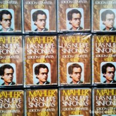 Casetes antiguos: MAHLER, LAS NUEVE SINFONÍAS. THE LONDON PHILARMONIC ORCHESTRA; SIR ADRIAN BOULT. MOVIEPLAY, 1975. Lote 178141888