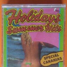 Casetes antiguos: HOLIDAYS SUMMER HITS OPEN RECORDS SPECIAL CANARIAS PRECINTADA!. Lote 178267571