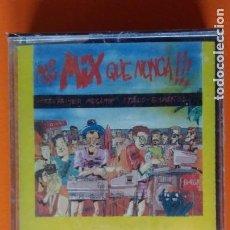 Casetes antiguos: MAS MIX QUE NUNCA!!!EL PRIMER MEGAMIX ITALO ESPAÑOL MEMORY RECORDS 1986 PRECINTADA!!. Lote 178435655