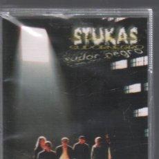 Casetes antiguos: STUKAS - SUDOR NEGRO / CASSETTE DE 1999 RF-947,10 , PRECINTADO. Lote 178860565