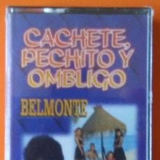Casetes antiguos: BELMONTE Y CHANNEL CACHETE PECHITO Y OMBLIGO HORUS PRECINTADA!. Lote 178931400