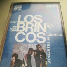 Casetes antiguos: LOS BRINCOS. Lote 179098468