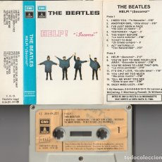 Casetes antiguos: THE BEATLES - HELP! (CASSETTE EMI-ODEON 1971 ESPAÑA). Lote 179148995