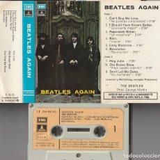 Casetes antiguos: THE BEATLES - BEATLES AGAIN (CASSETTE EMI-ODEON 1971 ESPAÑA) . Lote 179149185