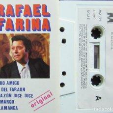 Casetes antiguos: RAFAEL FARINA - MINI LOTE 2 CASETES. Lote 179203572