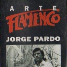 Casetes antiguos: ARTE FLAMENCO. JORGE PARDO. CASE-16820. Lote 211471054