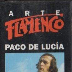 Casetes antiguos: ARTE FLAMENCO. PACO DE LUCÍA. CASE-16861. Lote 179894637
