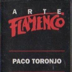Casetes antiguos: ARTE FLAMENCO. PACO TORONJO. LOS ROCIEROS CASE-16862. Lote 179910351