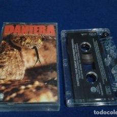 Casetes antiguos: CASETE CASSETTE ( PANTERA - THE GREAT SOUTHERN TRENDKILL ) 1996 ATLANTIC RECORDS. Lote 180097660