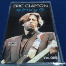 Casetes antiguos: CASETE CASSETTE ( ERIC CLAPTON - MY FRIEND MY LIFE ) OVER LOAD. Lote 180098203