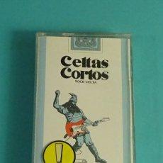 Casetes antiguos: CELTAS CORTOS. ROCK CELTA. Lote 180388943