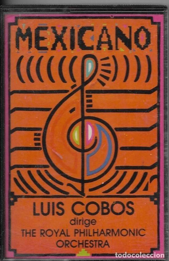 == C254 - LUIS COBOS - MEXICANO (Música - Casetes)