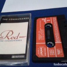Casetes antiguos: CASETE CASSETTE ( THE COMMUNARDS - RED ) 1987 LONDON MADE IN SPAIN. Lote 180495680