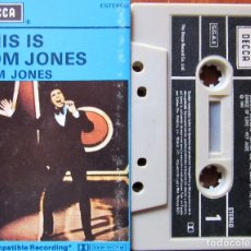 Casetes antiguos: TOM JONES - THIS IS TOM JONES. Lote 181422966