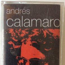 Casetes antiguos: SOLO CAJA. ANDRÉS CALAMARO. HONESTIDAD BRUTAL. CINTA CASETE CASSETTE.. Lote 181507671