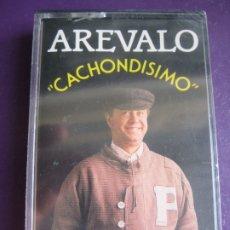 Casetes antiguos: AREVALO CASETE PRECINTADA - CACHONDISIMO - HUMOR RISA CACHONDEO CHISTES . Lote 181574703