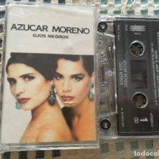 Casetes antiguos: AZUCAR MORENO OJOS NEGROS 1992 CINTA CASETE CASSETTE KREATEN. Lote 182097010