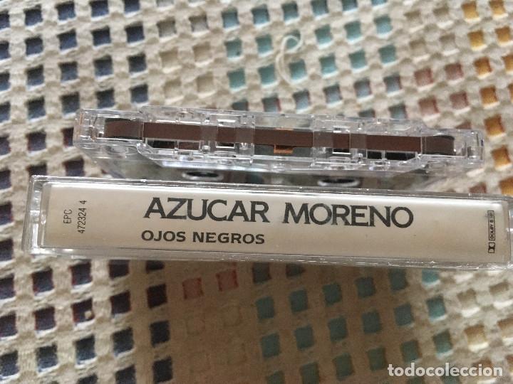 Casetes antiguos: AZUCAR MORENO OJOS NEGROS 1992 cinta casete cassette kreaten - Foto 3 - 182097010