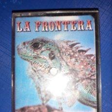 Casetes antiguos: CASSETTE LA FRONTERA. 1985. SU PRIMER LP. Lote 182366875
