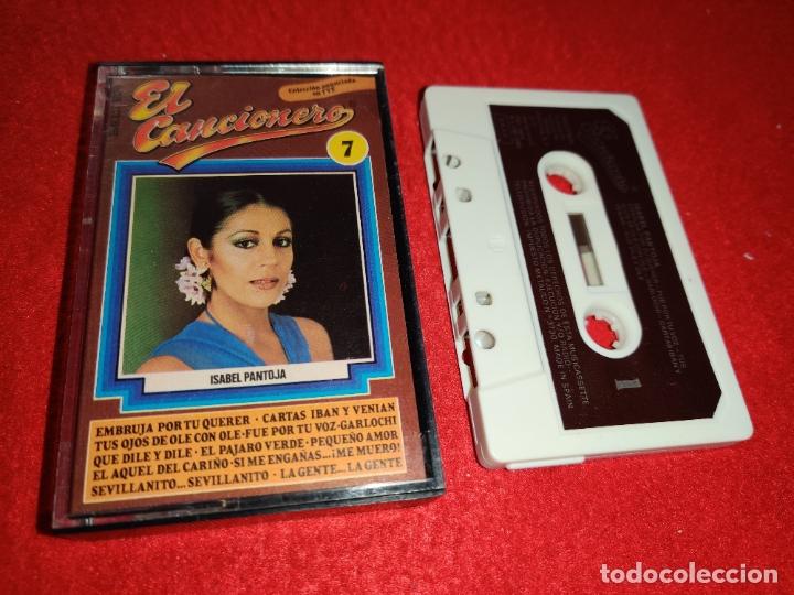 ISABEL PANTOJA K7 CASSETTE 1980 EL CANCIONERO SPAIN ESPAÑA (Música - Casetes)