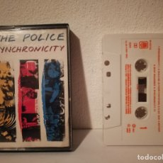 Casetes antiguos: CASETE ORIGINAL - THE POLICE - CASSETTE - SYNCHRONICITY - 1983 - A&M RECORDS. Lote 182652291