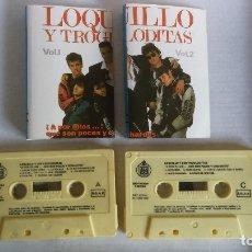 Casetes antiguos: LOQUILLO Y TROGLODITAS. ¡A POR ELLOS..¡ QUE SON POCOS Y COBARDES. VOL. 1 Y 2. HISPAVOX, 1989. Lote 182724260