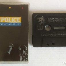 Casetes antiguos: THE POLICE_GREATEST HITS_CASSETTE EDICIÓN ESPAÑOLA_1990 COMO NUEVA!!!. Lote 182726516