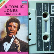 Casetes antiguos: TOM JONES - A-TOM-IC JONES. Lote 183080277