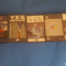 Casetes antiguos: LOTE 5 CASETTES DE YES. Lote 183092676