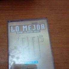 Casetes antiguos: LO MEJOR DE LOS 80. PART 1. C1F. Lote 183387448