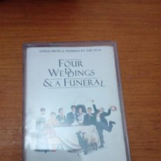 Casetes antiguos: FOUR WEDDINGS & A FUNERAL. C1F. Lote 183387828