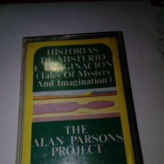 Casetes antiguos: HISTORIAS DE MISTERIO E IMAGINACION. THE ALAN PARSONS PROJECT. C15F. Lote 183455703