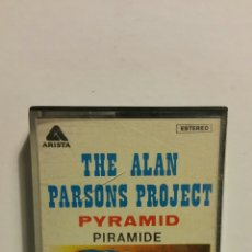 Casetes antiguos: THE ALAN PARSONS PROJECT, PYRAMID, ARISTA 1978. CASETE. Lote 183521658