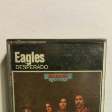 Casetes antiguos: EAGLES, DESPERADO, ASYLUM RÉCORDS, POLYGAMY , 1975 CASETE.. Lote 183526690