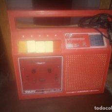 Casetes antiguos: RADIO CASET SNUPY CASSETTE TRANSISTOR VANGUARD. Lote 183528143