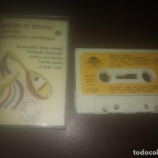 Casetes antiguos: CINTA DE MUSICA CASET CASSETTE MARIO DI NAPOLI AND HIS MANDOLINE ENSEMBLE AÑO 1980. Lote 183529580