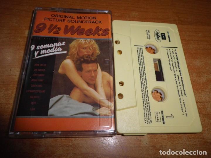 9 1 2 Weeks Nueve Semanas Y Media Banda Sonora Comprar Casetes Antiguos En Todocoleccion 183726793