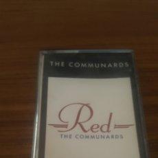 Casetes antiguos: THE COMUNARDS RED ORIGINAL. Lote 184101202