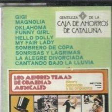 Cassette antiche: CASETE - LOS MEJORES TEMAS DE COMEDIAS MUSICALES - BELTER - 1975. Lote 184127197