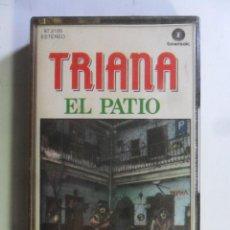 Casetes antiguos: CASSETTE - TRIANA - EL PATIO - FONOMUSIC - 1988. Lote 184393222