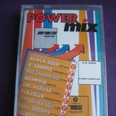 Casetes antiguos: POWER MIX CASETE DISCOMAGIC 1991 PRECINTADO - ELECTRONICA EURO HOUSE - DOWNTEMPO . Lote 185951173
