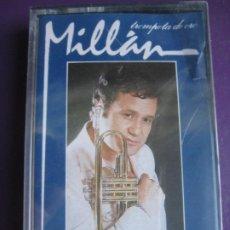 Cassettes Anciennes: MILLAN - TROMPETA DE ORO CASETE MASA PRECINTADA - MELANCOLIA - EASY LISTENING JAZZ . Lote 185961935
