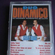 Cassette antiche: DUO DIANMICO CASETE CBS PRECINTADO 1990 - GUATEQUE - MIX DE EXITOS CLASICOS POP ROCK 50'S. Lote 185962998