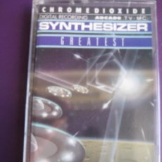 Casetes antiguos: ED STARINK ‎– SYNTHESIZER GREATEST VOL 1 CASETE ARCADE 1989 PRECINTADA -SYNTH POP - VANGELIS MORODER. Lote 186063128