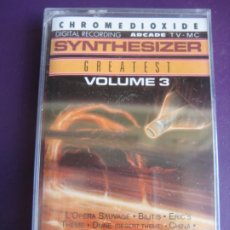 Casetes antiguos: ED STARINK ‎– SYNTHESIZER GREATEST VOL 3 CASETE ARCADE 1989 PRECINTADA -SYNTH POP - ENO - PARSONS . Lote 186063325