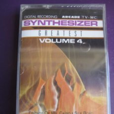 Casetes antiguos: ED STARINK ‎– SYNTHESIZER GREATEST VOL 4 CASETE ARCADE 1989 PRECINTADA -SYNTH POP - KITARO OLDFIELD. Lote 186063417