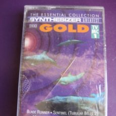 Casetes antiguos: ED STARINK ‎– SYNTHESIZER GREATEST GOLD CASETE ARCADE 1992 PRECINTADA - BLADE RUNNER - TWIN PEAKS. Lote 186063653