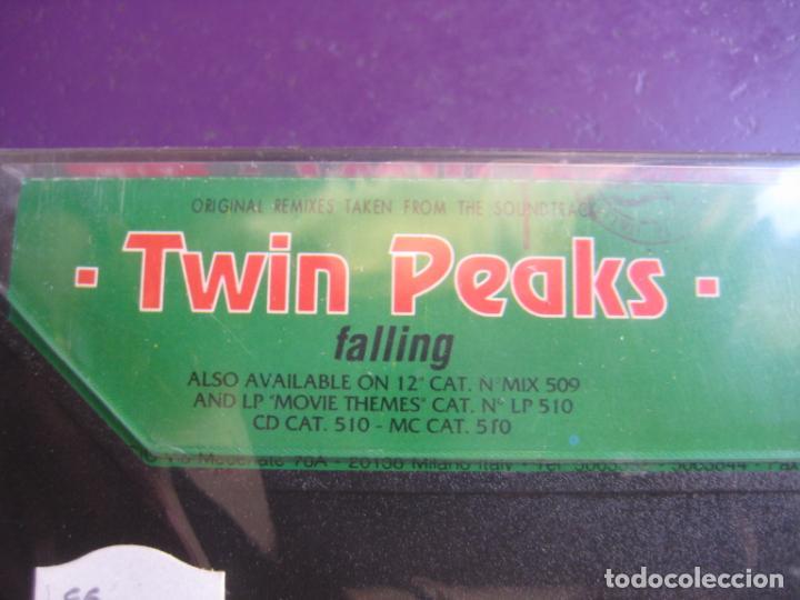 Casetes antiguos: Twin Peaks (Falling) CASETE DISCOMAGIC 1991 PRECINTADA - 6 VERSIONES HOUSE MIX - BADALAMENTI - Foto 2 - 186082812