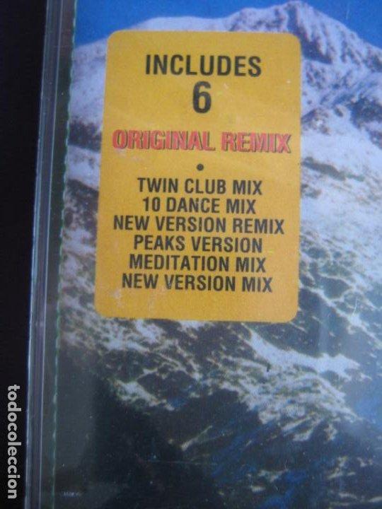 Casetes antiguos: Twin Peaks (Falling) CASETE DISCOMAGIC 1991 PRECINTADA - 6 VERSIONES HOUSE MIX - BADALAMENTI - Foto 3 - 186082812